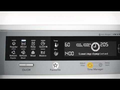 Electrolux Time Manager Washer
