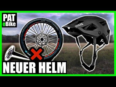 Neuer E- Bike Helm + Platter Reifen | PAT