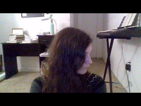 This is a cover I did of a song- the audio quality is not great, but this is an example of me singing!