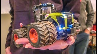 Incredible RC Tractors And Equipment In 1/32 Scale! Modified And Stock!