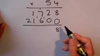 SLEP Long Multiplication