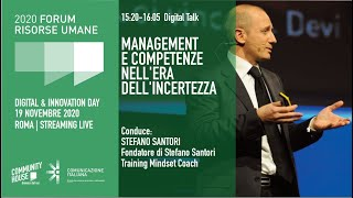 Youtube: Digital Talk | MANAGEMENT E COMPETENZE NELL'ERA DELL'INCERTEZZA