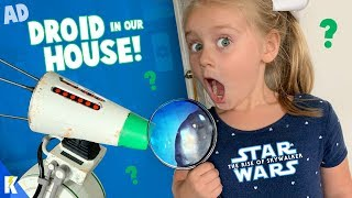 A Strange STAR WARS Droid in Our House! (It's D-O the Interactive Droid!) KIDCITY