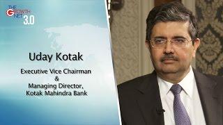 Uday Kotak, Executive Vice Chairman and Managing Director, Kotak Mahindra Bank, India