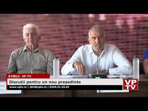 Discuții pentru un nou președinte