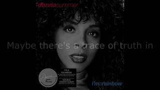 "Donna Summer - True Love Survives LYRICS SHM ""I'm a Rainbow"" 1981"