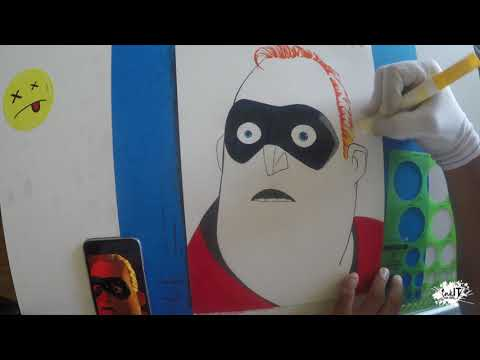 The Incredibles 2 - Art Challenge ( HD )