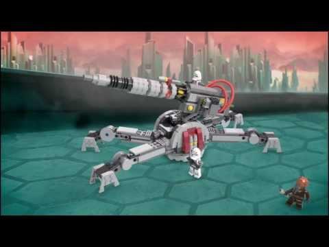 Vidéo LEGO Star Wars 75045 : Canon Anti-Véhicule AV-7 de la République