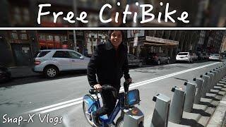 Free CitiBike! (Vlog #19)