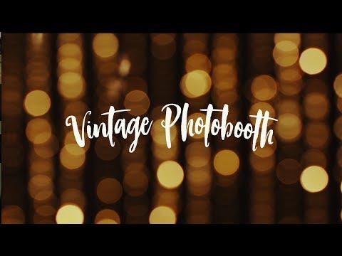 Vintage Photobooth // Die Fotobox für dein Event