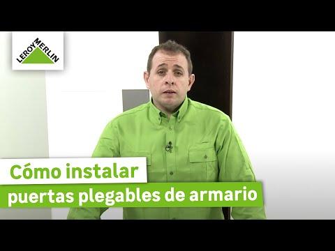 Cómo instalar puertas correderas de armario (Leroy Merlin)