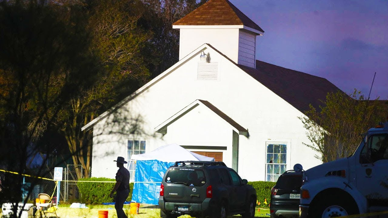 26 Dead After Mass Shooting In Texas Church thumbnail