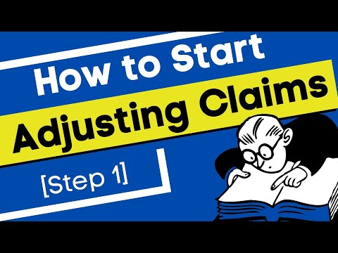 #39| STEP 1: A Beginners Guide to a Claims Adjuster Career ...