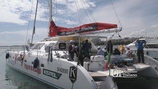 Lo spirito di stella approda a Bari: il catamarano senza barriere architettoniche