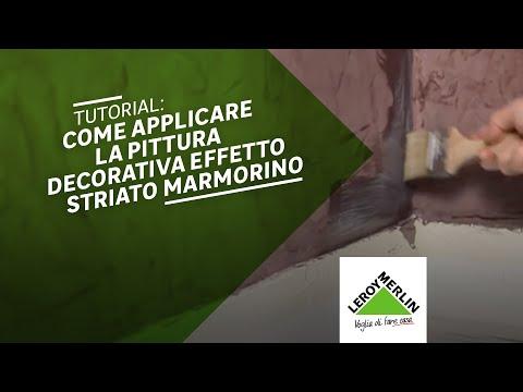 Come applicare la pittura decorativa Marmorino - Leroy Merlin