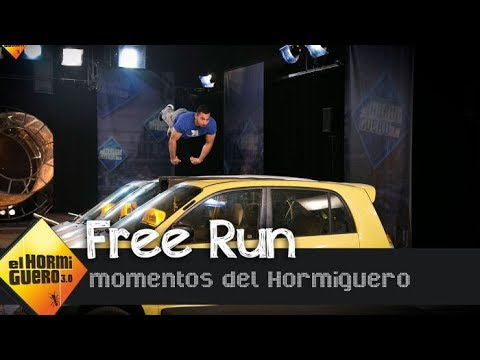 La demostración de 'Free Run' más impresionante - El Hormiguero 3.0