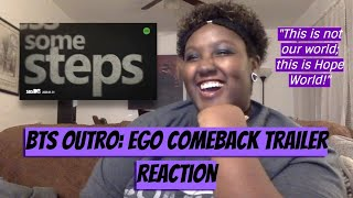 『REACTION』 BTS 방탄소년단 – MAP OF THE SOUL: 7 – 'Outro: Ego' Comeback Trailer