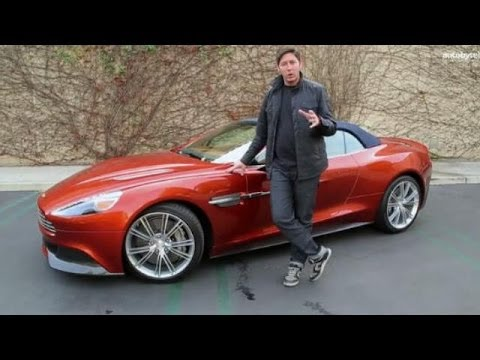 2014 Aston Martin Vanquish Volante Test Drive U0026 Exotic Car Video Review