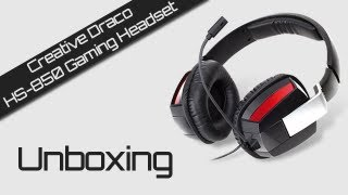 Unboxing - Creative Draco HS-850 Gaming Headset