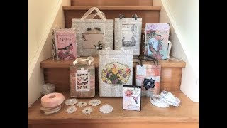 Handmade Gift Bags DIY | Recycled Materials (HOUSE YOUR JUNK JOURNALS)