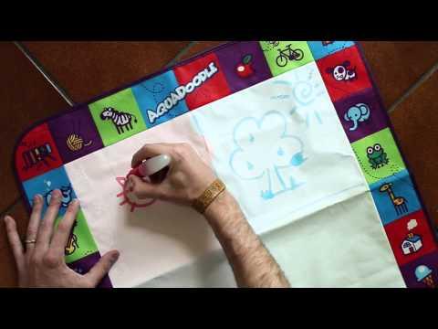 Aquadoodle: come disegnare con l'acqua su tappeto magico!