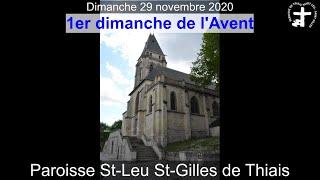 2020-11-29 – Messe du 1er dimanche de l'Avent