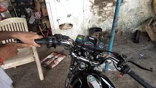 Sheru Yamaha RX 100 Self Start Mechanism My Hand
