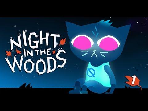Night in the Woods   ПУШИСТАЯ БУНТАРКА   1 серия