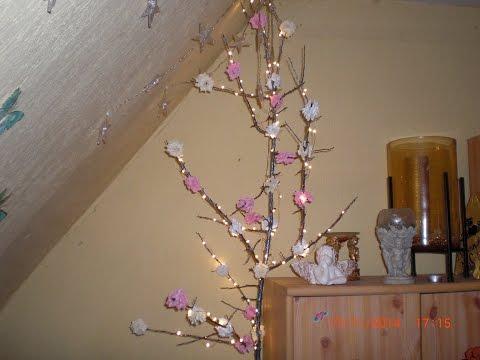 DIY - Fairy Lights Rosenbäumchen/ Lichterbaum selbstgemacht