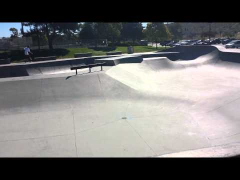 Tour of Martin Luther King skatepark in Oceanside,