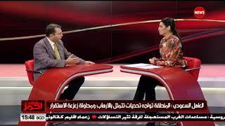 الباحث والكاتب الاردني احمد فهيم ضيف مانشيت احمر .. الشرقية نيوز