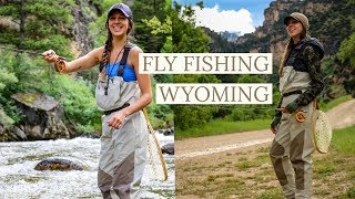 COWBOY FISHING *fly fishing Wyoming*