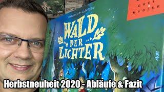 Wald der Lichter (Drei Magier / Schmidt) - Teil 1 - ab 5 Jahre - Abläufe und Fazit