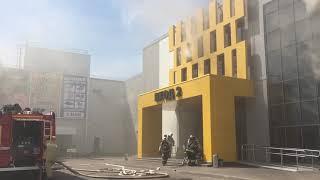 ТЦ «Порт» пожар