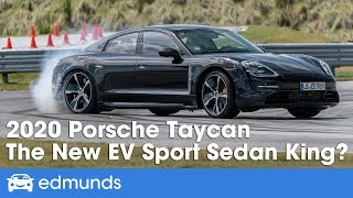2020 Porsche Taycan Reveal & First Look — The New Electric Car Sport Sedan King?