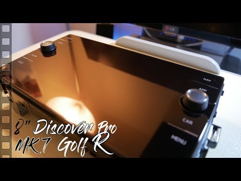 Golf 7 5 R MIB2 5 9 2 inch Original Discover Pro Retrofitted