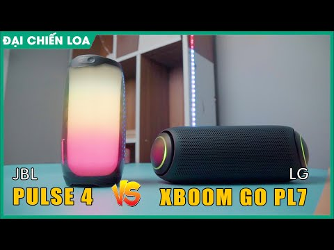 [Đại chiến loa] JBL Pulse 4 vs LG Xboom Go PL7| Loa nào nghe đỉnh hơn???