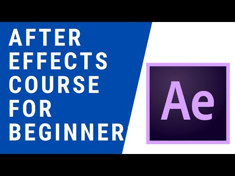 Adobe After Effects (Basic Course for Beginners)   Learn to create 40 ...