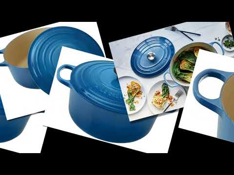 Dutch Oven Kitchen -Le Creuset Signature Enameled Cast-Iron 7-1/4-Quart
