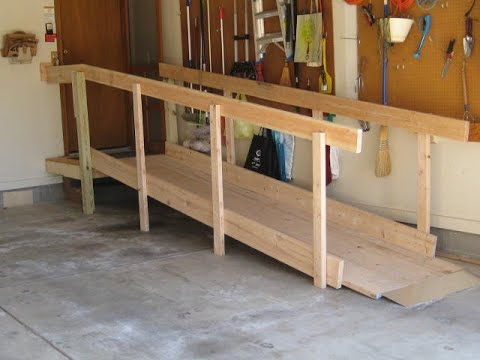 How to Build DIY 'Kit' Wheelchair Ramps in 2 hrs