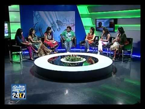 Seg_ 1 - Saadhu with Suvarna girls - 16 Sep 12 - Suvarna News