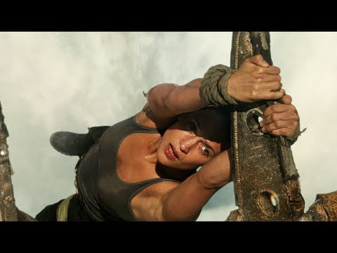 Tomb Raider (Clip 'Waterfall')