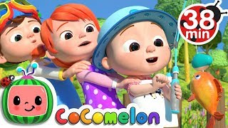 1, 2, 3, 4, 5, Once I Caught a Fish Alive! + More Nursery Rhymes & Kids Songs - CoComelon