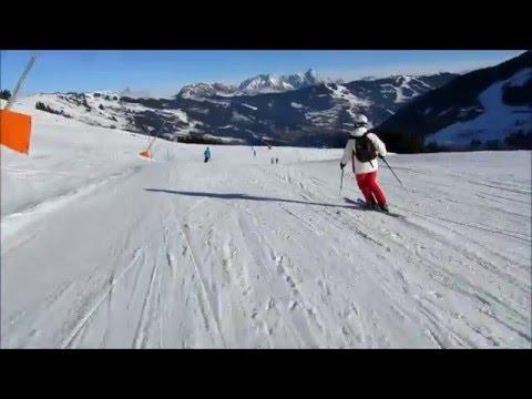 Rondje Saalbach Hinterglemm - Hinterglemm 2014-02