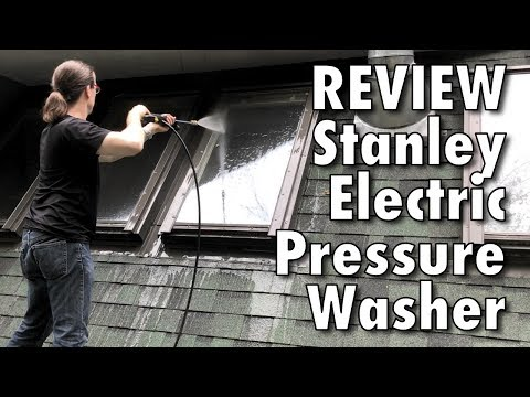 Review: Stanley 2050 PSI Electric Pressure Washer