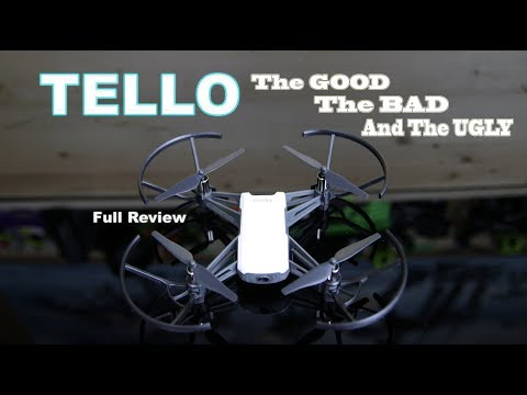 RYZE DJI TELLO – The GOOD The BAD & The UGLY – DRONE REVIEW