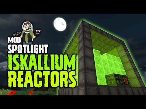 MOD: ISKALLIUM REACTORS | 🔌🖤 BEST POWER MOD FOR MINECRAFT!? | Minecraft Mod Spotlight]