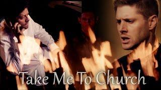 Dean & Castiel - Take Me To Church [Remake]