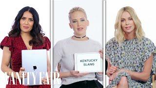 Jennifer Lawrence, Margot Robbie & More Teach Drinking Slang from Around the World | Vanity Fair