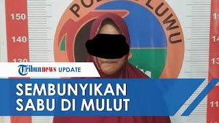 Emak-emak Nekat Jualan Sabu di Luwu, Bukti Disimpan di Mulut saat Hendak Ditangkap Petugas